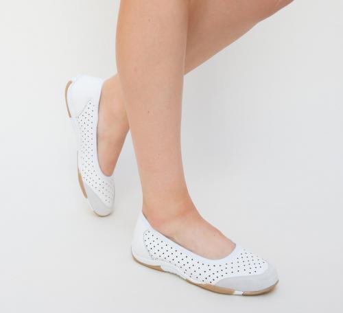 Pantofi Casual Betian Albi - Incaltaminte casual - Mocasini