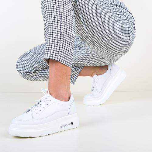 Pantofi Casual Figuer Albi - Incaltaminte casual - Pantofi casual