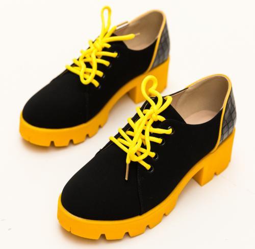 Pantofi Casual Gabor Galbeni - Incaltaminte casual - Pantofi casual