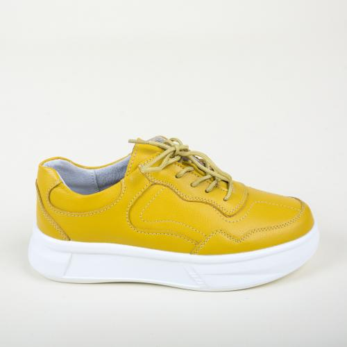 Pantofi Casual Peters Galbeni - Incaltaminte casual - Pantofi casual