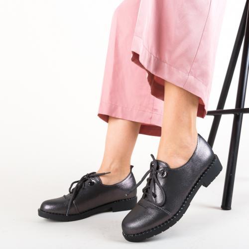 Pantofi Casual Riggs Gri - Incaltaminte casual - Pantofi casual