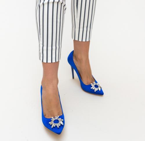 PantofI Spiti Albastri 2 - Pantofi depurtat -