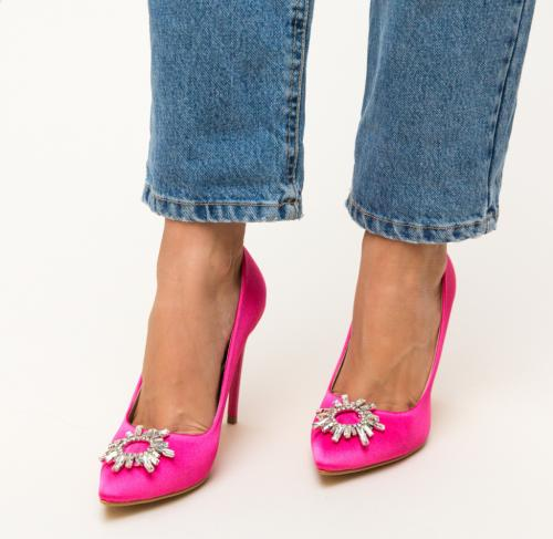 PantofI Spiti Roz 2 - Pantofi depurtat - Pantofi cu toc subtire