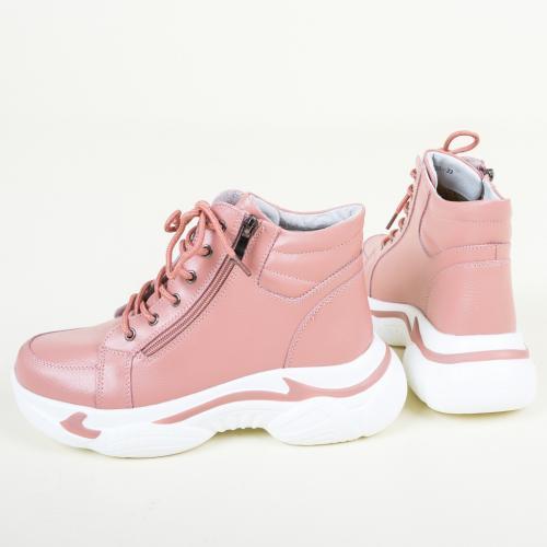Pantofi Sport Ford Roz - Ghete dama - Ghete imblanite