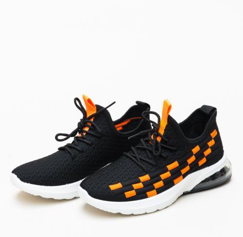 Pantofi Sport Leah Portocali - Incaltaminte sport - Pantofi sport