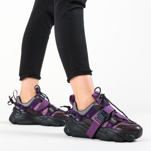 Pantofi Sport Morrigan Mov - Incaltaminte sport - Pantofi sport
