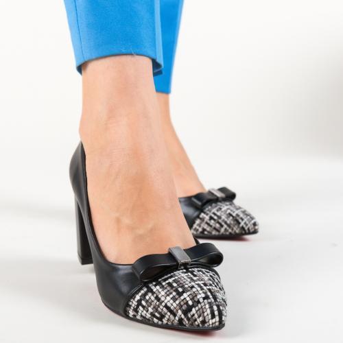 Pantofi Turkay Negri - Pantofi depurtat -